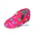 тапочки для малышей с практичной резиновой застежкой